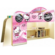 Кровать чердак для девочки Hello Kitty