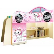 Кровать чердак для девочки Кошечка Мари
