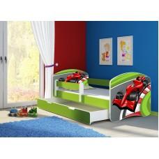 Детская кровать с бортиками. Кровать для мальчика Формуа 1