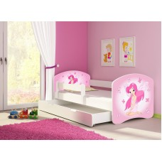 Детская кровать с бортиками Фея. Кровать для девочки
