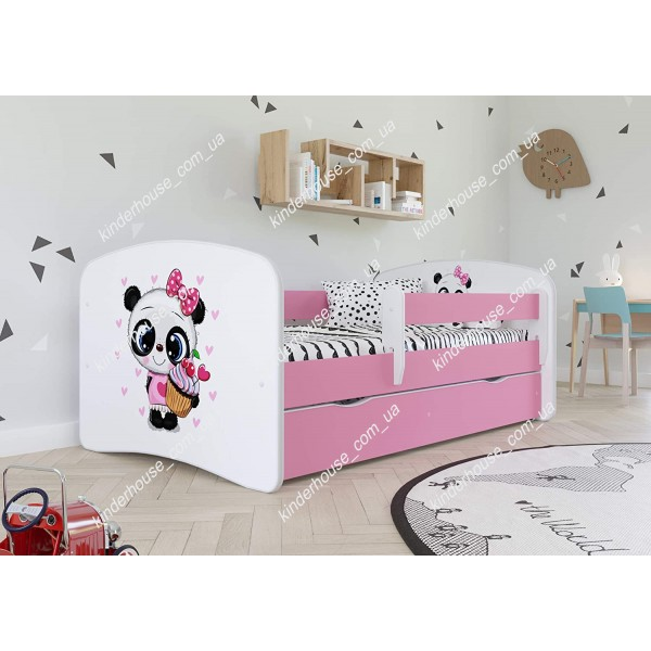 Кровать для девочки / детская кровать Пандочка с пирожным