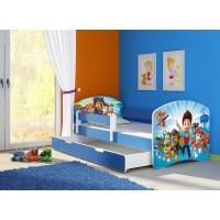 Кровать детская  для мальчика Щенячий патруль