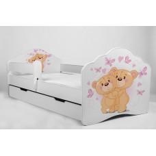 Детская кровать с бортиками. Кровать детская Тедди