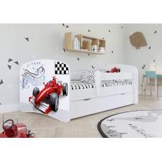 Детская кровать с бортиками. Кровать для мальчика Формула