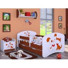 Детская кровать с бортиками. Кровать для мальчика или девочки
