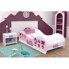 Кровать для девочки ЛОЛ LOL