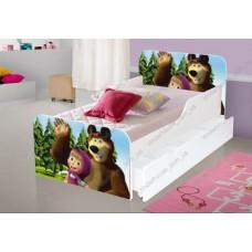 Детская кровать Маши и Медведь АГОРА Бесплатная доставка!