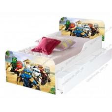 Детская кровать для мальчика Ниндзяго АГОРА Бесплатная доставка!