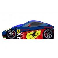 Кровать машина Ferrari синяя с бесплатной доставкой!