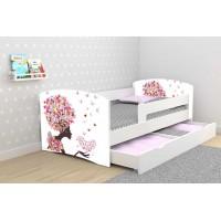 Детская кровать с бортиками Цветочная Фея. Бесплатная доставка!