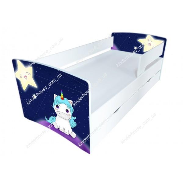 Кровать для девочки Единорог  Бесплатная доставка!
