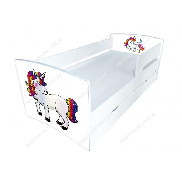 Кровать для девочки Единороги Бесплатная доставка!