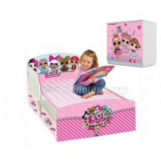 Детская кровать для девочки LOL 1