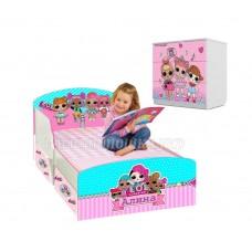 Детская кровать для девочки LOL 2