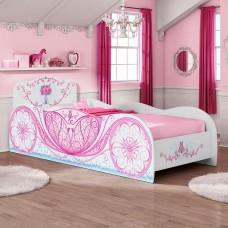 Кровать-карета для девочки