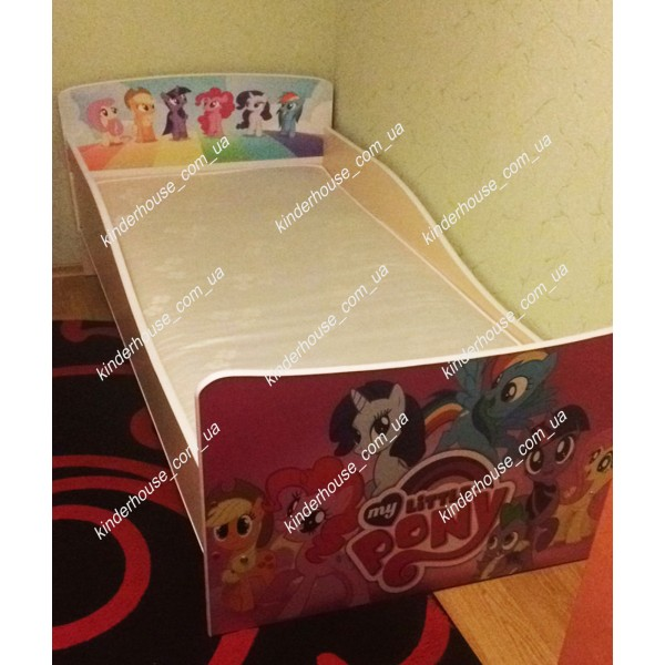 Детская кровать для девочки My Little Pony