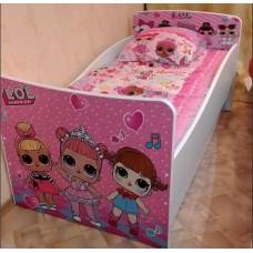 Детская кровать для девочки LOL Доставка бесплатно!