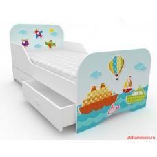 Детская кровать для мальчика Море