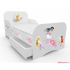 Детская кровать для девочки Феи