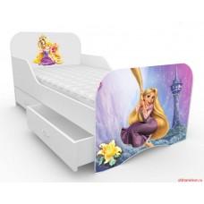 Детская кровать для девочки Рапунцель