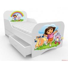 Детская кровать для девочки Дора следопыт