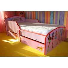 Детская кровать для девочки WINX