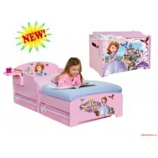 Кровать для девочки Принцесса София