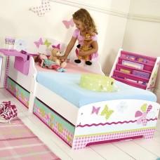 Кровать для девочки Бабочки - 1