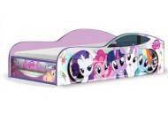 Кровати-машины с тематическими рисунками (20)