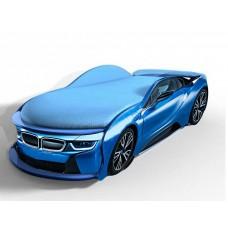 Кровать машина БМВ I8 синяя