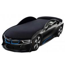 Кровать машина BMW I8 черная + подарок!