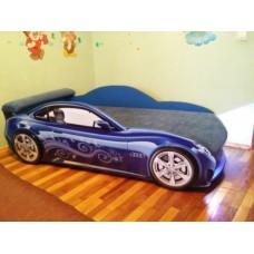 Кровать машина AUDI NEW синяя