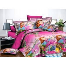 Детское постельное белье 3Д для девочки Принцесса София 2