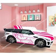 НОВИНКА! Кровать для девочки машина Range Rover с бесплатной доставкой