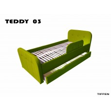 Детская кровать мягкая Тедди салатовая Бесплатная доставка!