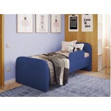 Детская кровать мягкая Тедди синяя Бесплатная доставка!