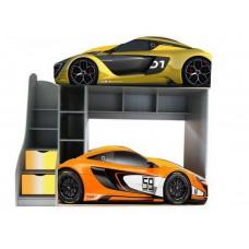 Двухъярусная кровать машинка McLaren - 2