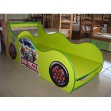 Детская кровать-машина для мальчика Ниндзяго