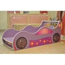 Детская кровать-машина для девочки Лили