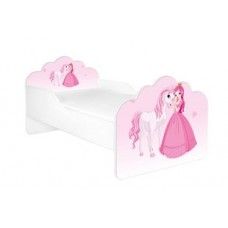 Кровать с матрасом Принцесса и единорог Бесплатная доставка! АКЦИЯ