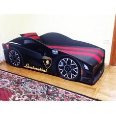 В НАЛИЧИИ! Кровать машина Ламборджини Бренд+ черная с бесплатной доставкой!