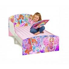 Детская кровать для девочки Winx Club белая