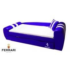 Кровать диван Гранд Феррари синяя Доставка бесплатно!