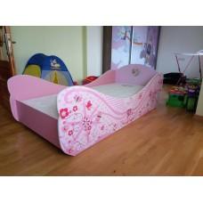 Кровать карета для девочки Принцессы 2