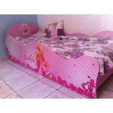 Кровать для девочки Барби-5