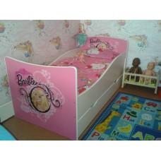 Детская кровать для Девочки Барби