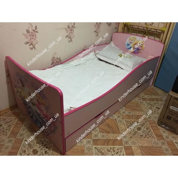 Детская кровать для девочки Princess