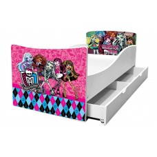Детская кровать для девочки Monster Hihg
