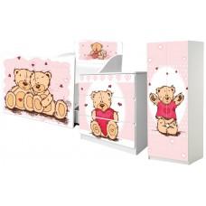 Детская кровать для девочки Тедди