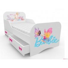 Детская кровать для девочки Барби-2